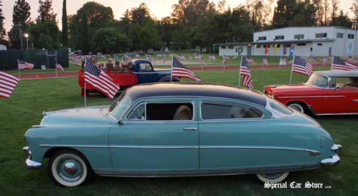 1951 Hudson Wasp, Owned by Steve McQueen at Steve McQueen Car and Motorcycle Show 2013