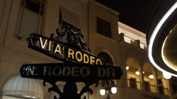 Via Rodeo Beverly Hills CA