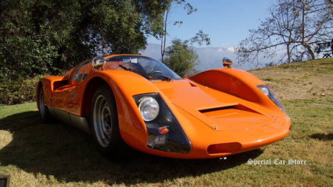 1967 Porsche 906 Carrera 6 at Art Center Car Classic 2014