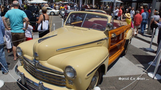 1947 Ford Super Deluxe Sportsman Convertible Rodeo Drive Concours d'Elegance