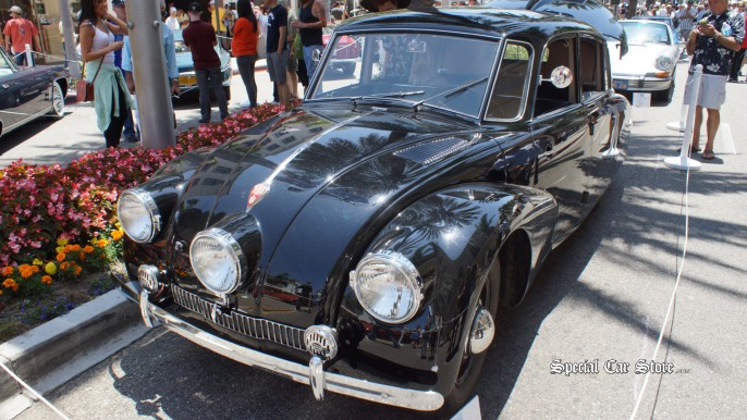 1941 Tatra T 87 Rodeo Drive Concours d'Elegance