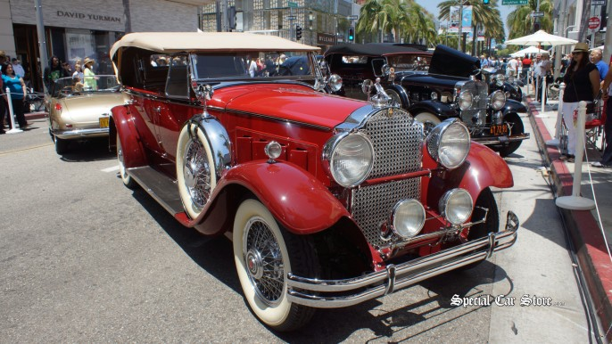 Pre war Packard Rodeo Drive Concours d'Elegance