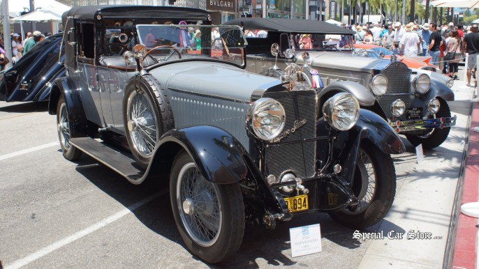 1925 Hispano Suiza H66 Rodeo Drive Concours d'Elegance