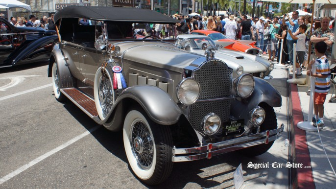 1929 Packard Rodeo Drive Concours d'Elegance