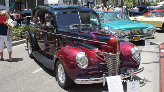 1940 Ford Deluxe Sedan Rodeo Drive Concours d'Elegance