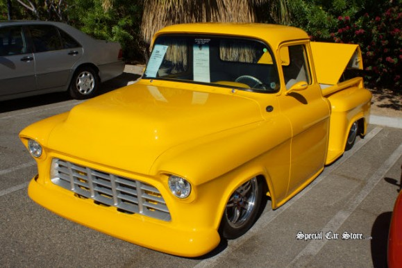 1955 Chevrolet Pickup Truck - McCormick's Palm Springs Auction 54