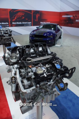 Ford Mustang GT500 Engine 2012 LA Auto Show