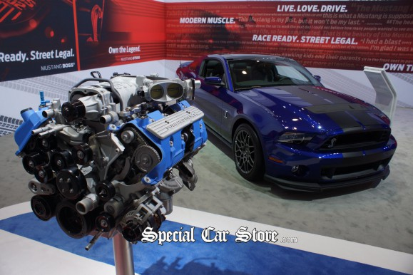 Ford Mustang GT500 2012 LA Auto Show