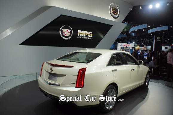 MPG Car of the Year 2013 Cadillac ATS LA Auto Show
