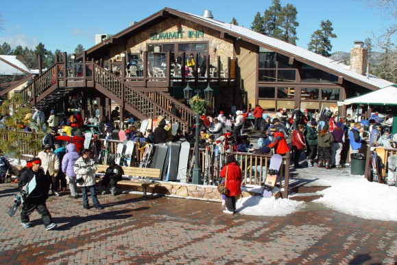 The ski lodge Big Bear