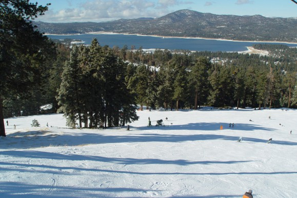 Ski Hill at Big Bear