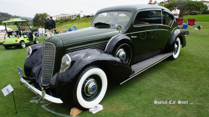 1938 Lincoln Model V12 Touring Coupe - Dana Point Concours d'Elegance