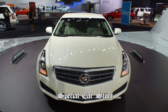 2013 Cadillac ATS MPG Car of the Year LA Auto Show