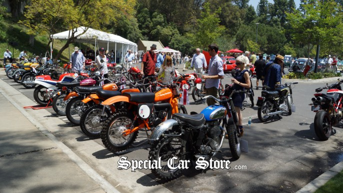 Motorcycle Classics at Greystone Mansion Concours d'Elegance 2012