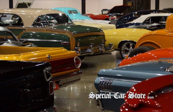 Collector Cars Preview Before Barrett-Jackson Orange County Auction 2012