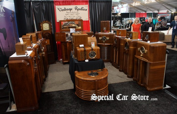 Vintage Radios at Barrett-Jackson Orange County 2012