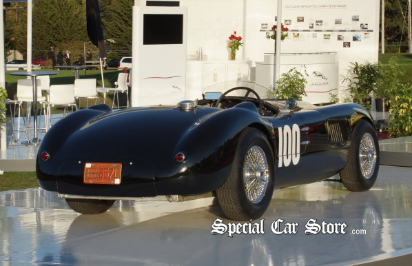 1952 Jaguar C-Type, Competitor at Monterey Historic Racing- Pebble Beach Concours d'Elegance 2012