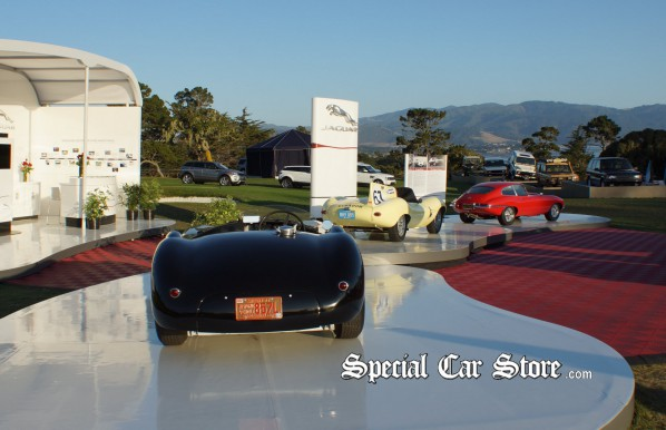Jaguar E-Type, D-Type and C-Type, Pebble Beach Concours d'Elegance