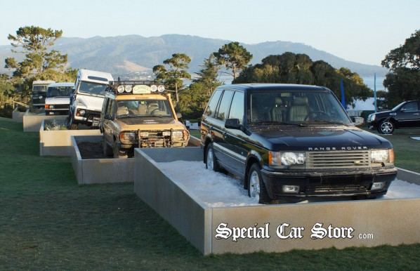 Land Rover Land Rover display at Pebble Beach Concours d'Elegance 2012