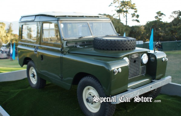 1966 Land Rover Series II - Pebble Beach Concours d'Elegance 2012