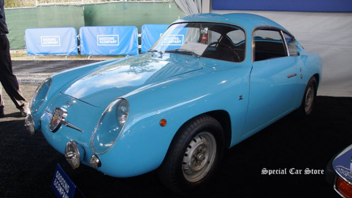 1959 Fiat-Abarth 750 GT at Gooding and Company Auction Pebble Beach 2015