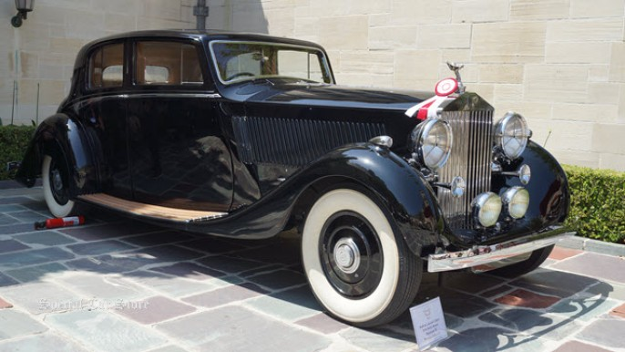 1936 Rolls-Royce Phantom III at Greystone Mansion Concours d'Elegance 2013