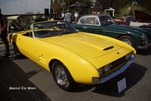 "1968 Ghia 450 SS at Greystone Concours d""Elegance 2016"