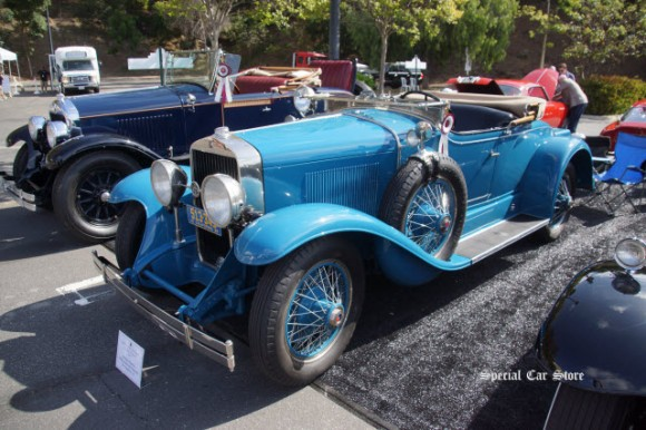 1928 LaSalle 303 Roadster at Greystone Mansion Concours d'Elegance 2016, Beverly Hills CA
