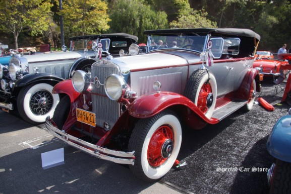 "1930 LaSalle 340 Phaeton at Greystone Concours d""Elegance 2016"