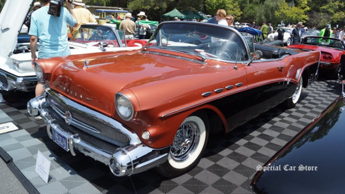 1957 Buick Roadmaster at Greystone Mansion Concours d'Elegance 2012