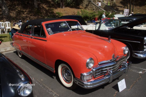 1949 Frazer Manhattan Convertible Sedan presented by Automobile Driving Museum at Greystone Mansion Concours d'Elegance 2016