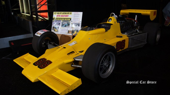 1977 Drake Offy Lightining Indy Car 3-Time Indianapolis 500 Entrant offered at Mecum Auctions 2015