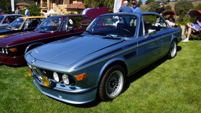 1972 BMW 3.0 CS at Legends of the Autobahn 2015