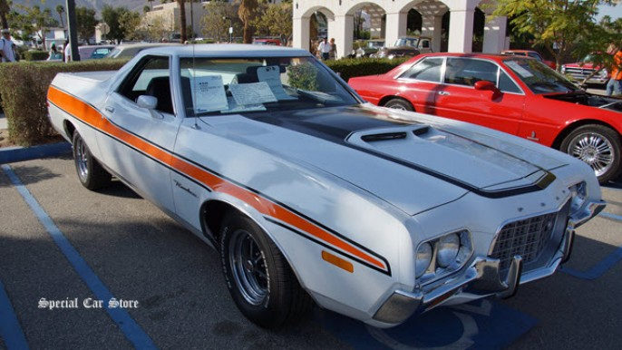 1972 Ford Ranchero GT sold at McCormick's Collector Car Auction 56