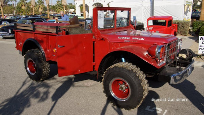 1947 Dodge Power Wagon sold at McCormick's Collector Car Auction and Car Show