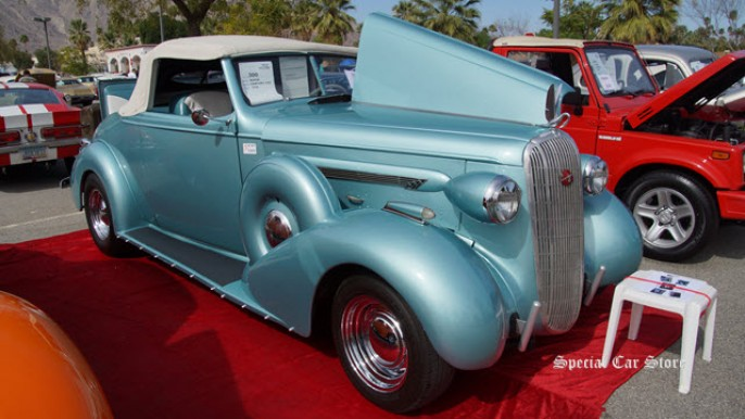 1936 Buick Century Convertible at McCormick's Palm Springs Collector Car Auction 58