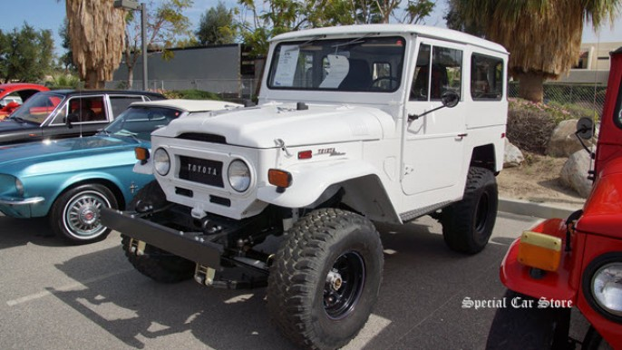1970 Toyota FJ40 sold at McCormick's Palm Springs Collector Car Auction 58