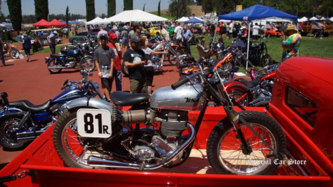 Steve McQueen Car and Motorcycle Show 2016