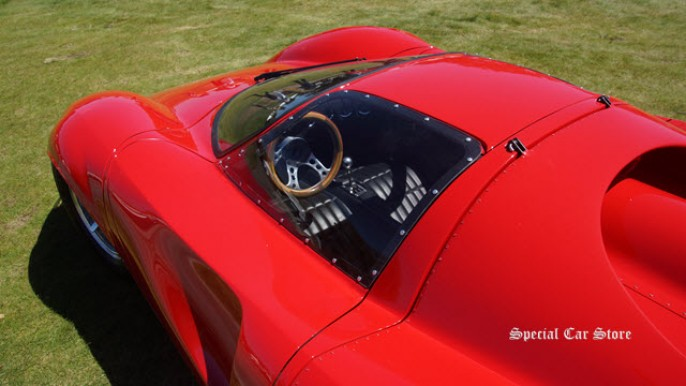 1967 Thomassima II by Tom Meade offered on ebay and scene at Concorso Italiano 2015