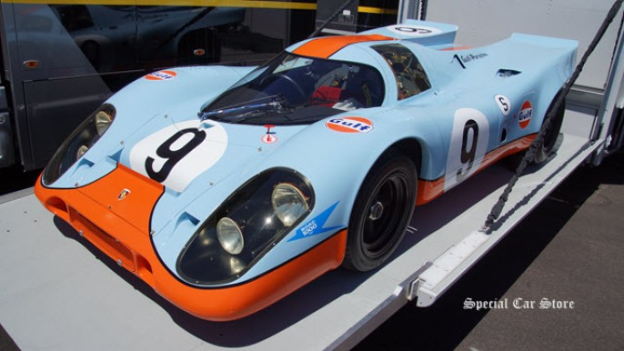 1st 917 to go full race distance: 1969 Porsche 917K at Rolex Monterey Motorsports Reunion 2014