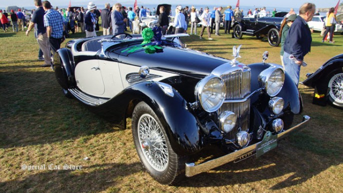 1938 Alvis Speed 25 Offord and Sons Open Two Seater at Pebble Beach Concours d'Elegance 2015