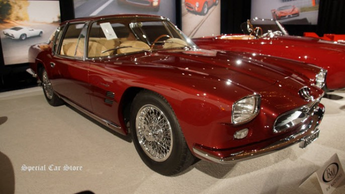 1963 Maserati 5000 GT by Frua at RM Auctions 2014 Monterey Car Week