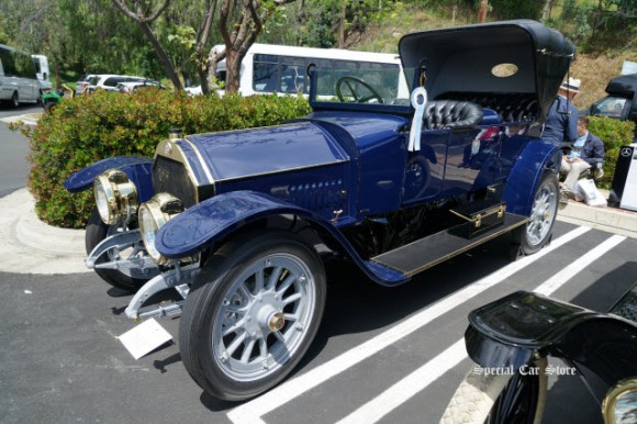 1911 Mercedes-Benz 80 HP Victoria wins Best of Class at Greystone Mansion Concours d'Elegance 2017