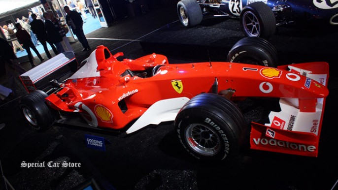 2002 Ferrari F2002 The Scuderia Ferrari, 3-Time Grand Prix Winning sold at Gooding and Co