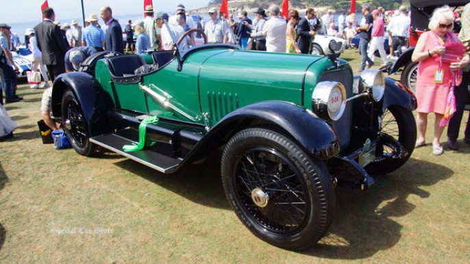 1922 Mercer Series 5 Raceabout at Pebble Beach Concours d'Elegance 2015
