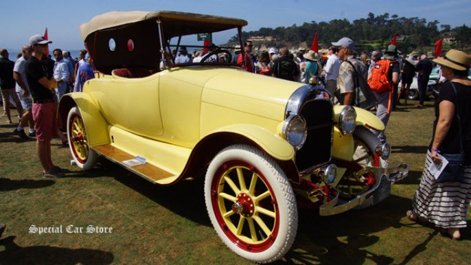 1917 Moon 6-45 Roadster at the 65th Pebble Beach Concours d'Elegance
