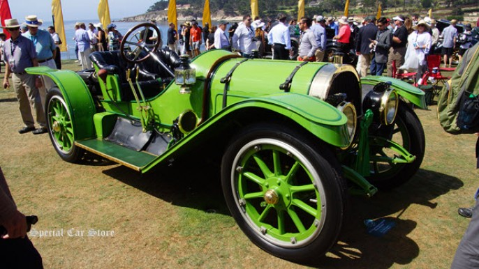 1911 Pope-Hartford Model W Portola Roadster at Pebble Beach Concours d'Elegance 2015