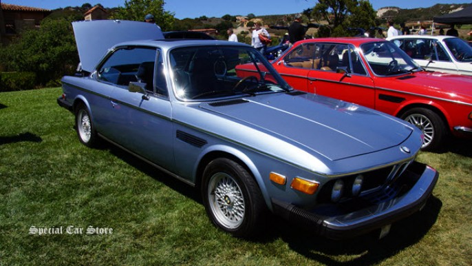 1974 BMW 3.0 CSA at Legends of the Autobaun 2014