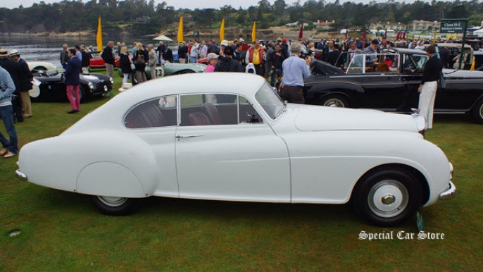 1952 Bentley R Type Continental HJ Mulliner Sports Saloon at Pebble Beach Concours d'Elegance 2013