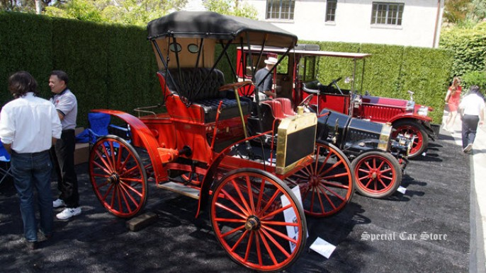 1904 Schacht Model K wins Best of Class at Greystone Mansion Concours d'Elegance 2014